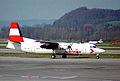 Austrian Airlines Fokker F50; OE-LFA@ZRH;04.04.1995 (5397235725).jpg