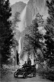 Automobile in Yosemite Valley in 1914.png