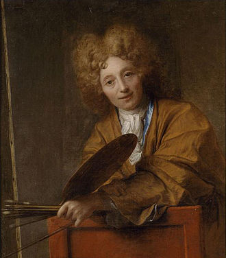 Jean-Baptiste Santerre - Self-portrait of Santerre.