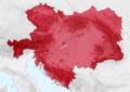 Autriche-Hongrie 1914 Localisation.png