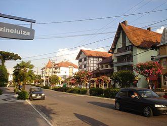 Nova Petrópolis - Main avenue