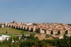 Walls of Ávila - Image: Avila 001