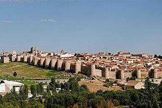 Walls of Ávila - Image: Avila 001
