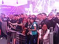 Avolites Press Conference audience at PLASA 2013.jpg