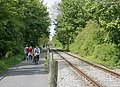 Avon Valley Railway and cyclepath - geograph.org.uk - 1287738.jpg