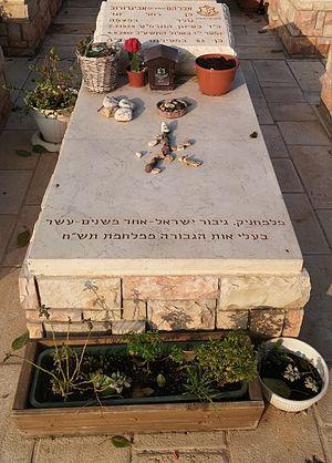 Avraham Avigdorov - Grave of Avraham Avigdorov