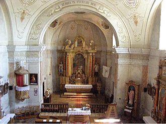 Church of St. Stephen Harding in Apátistvánfalva - In the choir
