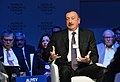Azerbaijani President Ilham Aliyev attended Strategic Outlook Eurasia session during World Economic Forum 2018 in Davos.jpg