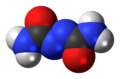 Azodicarbonamide 3D spacefill.png