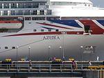 Azura Name Sign Port of Tallinn 12 June 2016.jpg