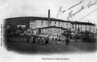 Bévenais, usine couturier, 1904, p 24 l'Isère les 533 communes - Gallant phot. - D. Roux éditeur.tif
