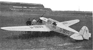 Messerschmitt BFW-M23