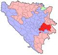 BH municipality location Istocno Sarajevo .png