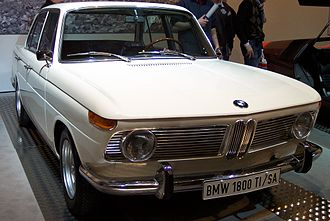 BMW New Class - 1965 BMW 1800 TI/SA