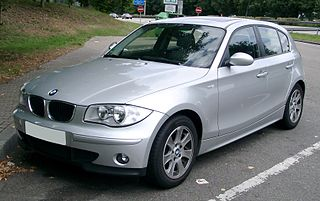 BMW 1 Series (E87) Motor vehicle