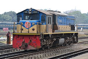 Bangladesh Railway Class 2900 - Class 2900 locomotive of Bangladesh Railway. This is locomotive no. 2934