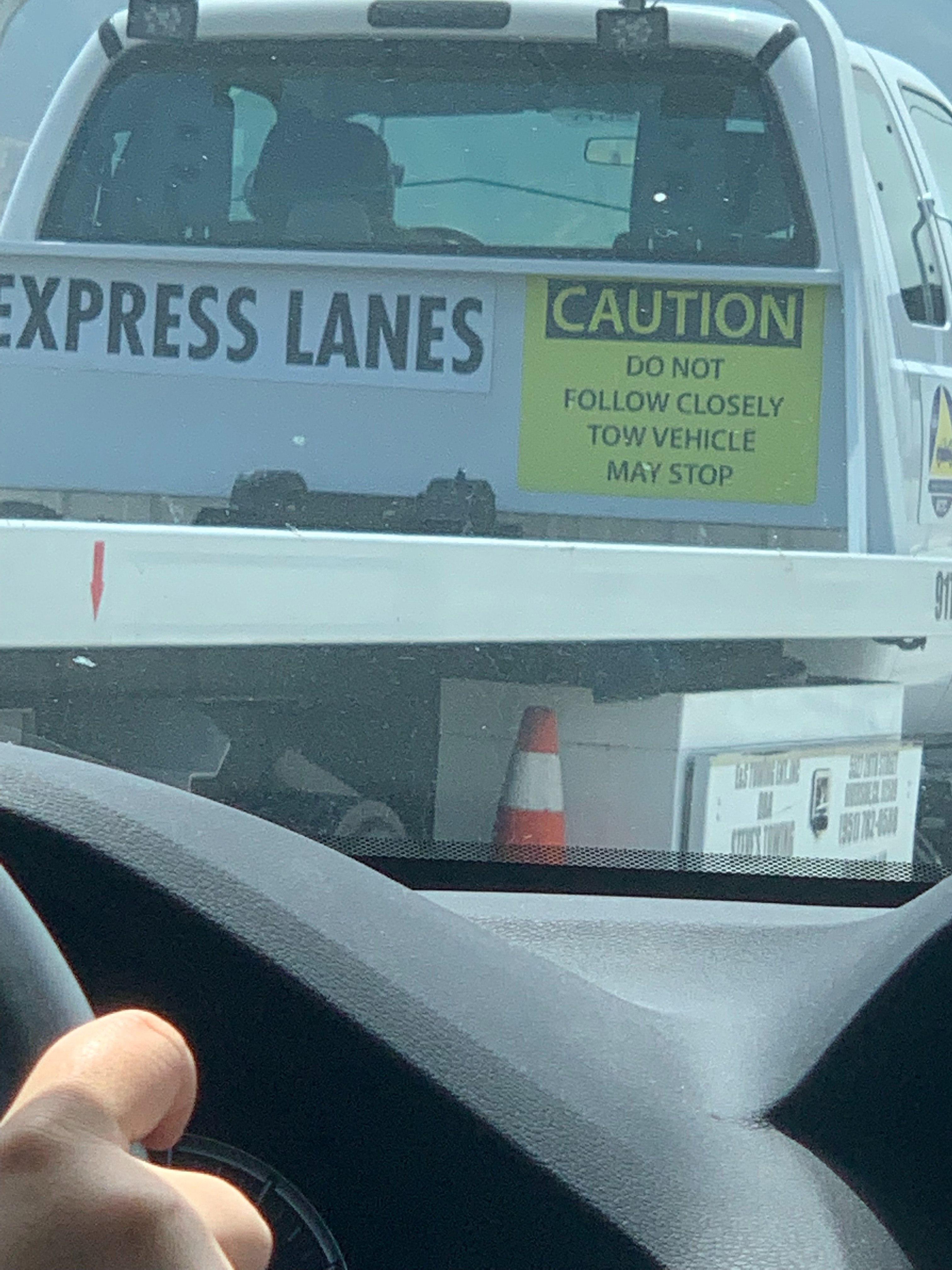 File:Back View of 91 Express Lane Tow Truck (Riverside
