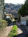 Back lane off Dunmere Road, Torquay - geograph.org.uk - 673372.jpg