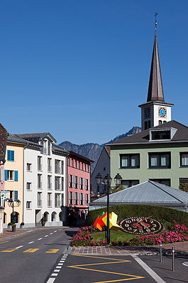 Bad Ragaz - Bad Ragaz - main square