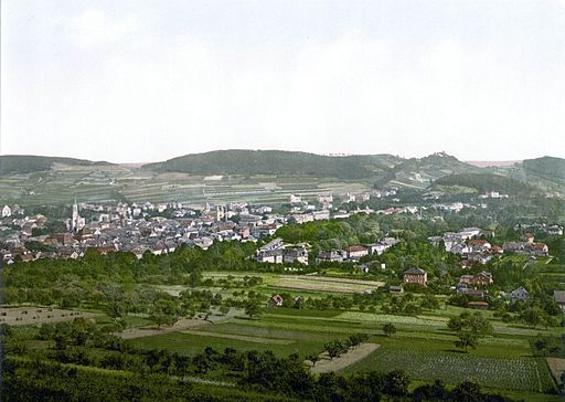 Bad Kissingen um 1900