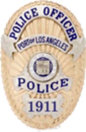 Los Angeles Port Police - Image: Badge of the Los Angeles Port Police