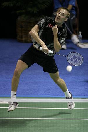 Peter Gade - Image: Badminton Peter Gade