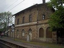 Bahnhof Wiltingen (Saar) Germany 2010.JPG