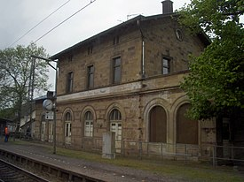 Bahnhof Wiltingen (Saar) Germany 2010.JPG
