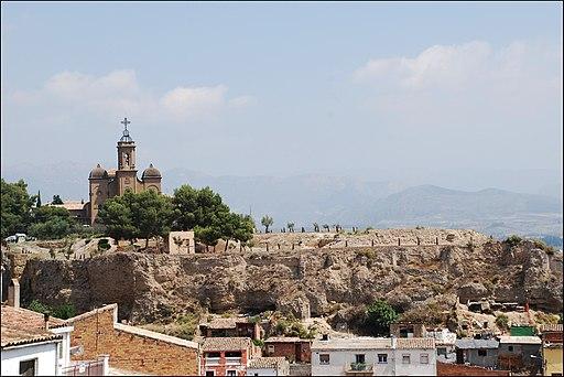 Balaguer - Castillo de Formós y santuario del Santo Cristo - DSC 0618
