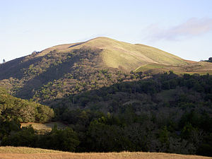 Bald Mountain (California) - Bald Mountain just south (outside of) Sugarloaf Ridge State Park.