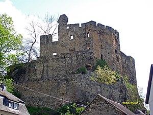 Balduinstein - Ruins of the castle