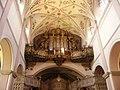 Bamberg Bamberg Kloster St. Michaelsberg Innen Orgel.JPG