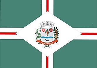 Nova Londrina - Image: Bandeira de Nova Londrina