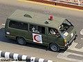 Bangladesh Army Toyota HiAce H50 Ambulance (23256352679).jpg