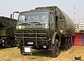 Bangladesh Army Type 79A ribbon bridge on Tiema XC2200 truck. (29344989030).jpg