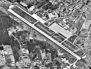 Bangor International Airport - Aerial view of Bangor International Airport