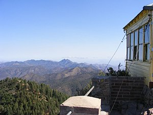 National Register of Historic Places listings in Cochise County, Arizona - Image: Barfoot Peak 2