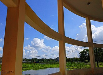 University of Barisal - View from the academic building