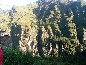 Barkot, Uttarakhand - Hill at  Sitachatti - Barkot - Yamunotri route