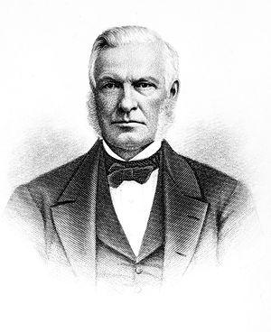 Barnas Sears - 1881 engraving