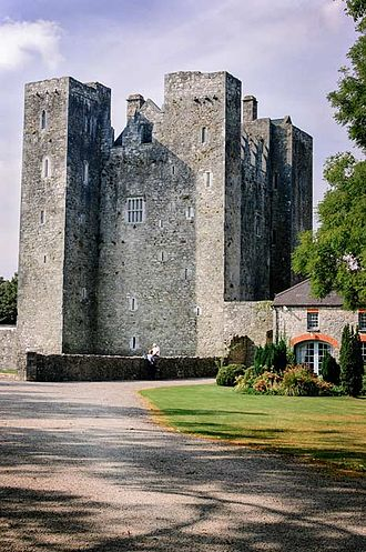 Sir John Meade, 1st Baronet - Barryscourt Castle, home of Meade's first wife Mary Coppinger.