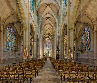Sainte-Clotilde, Paris - Image: Basilica of Saint Clotilde Interior, Paris, France Diliff