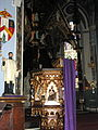 Basilica of Saint Francis Xavier (Dyersville, Iowa), interior, ambo.jpg