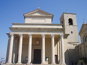 Roman Catholic Diocese of San Marino-Montefeltro - Image: Basilica rsm