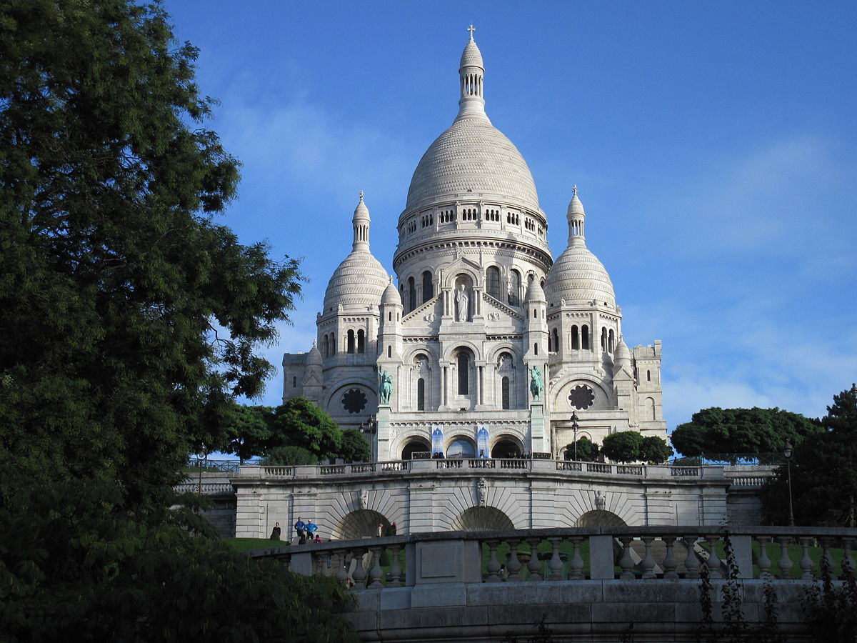 париж базилика сакре