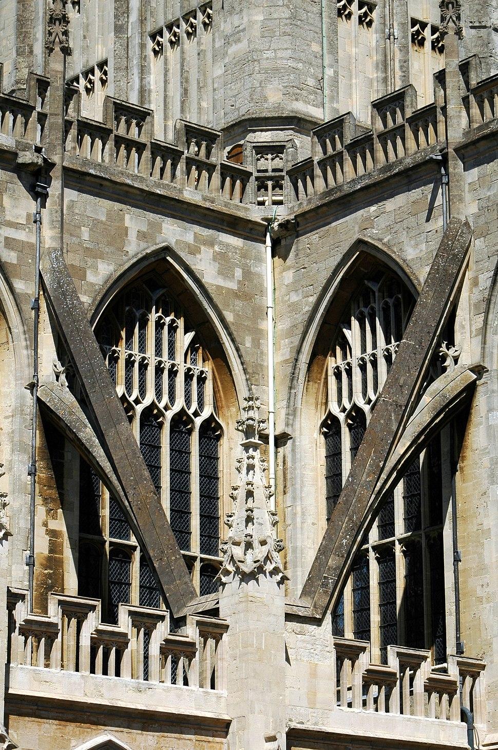 Bath Abbey detail 2