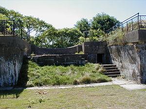 Lovells Island - Battery Williams on Lovell's Island.