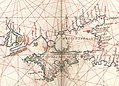 Battista Agnese. Black Sea. HM 10. PORTOLAN ATLAS Italy, ca. 1550.C.jpg