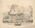 Battle of New Orleans and death of Major General Packenham (sic) on the 8th of January 1815 - West del. ; J. Yeager sc. LCCN2012645363.jpg