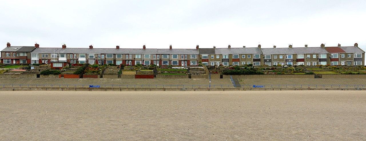 Beach Terrace Newbiggin By The Sea Northumberland United Kingdom Ne Xe